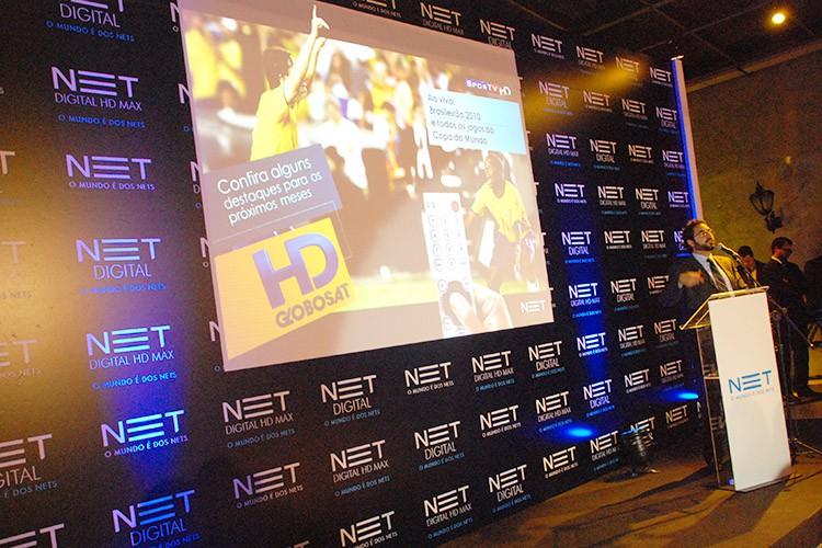 Lançamento NET HD