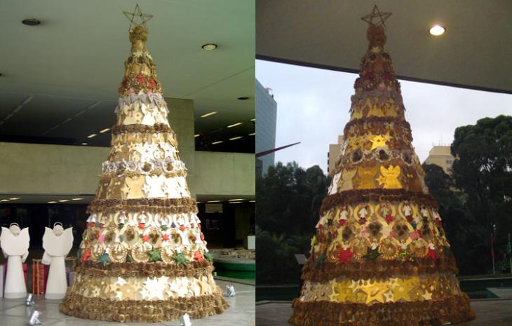 Decoração de Natal Itaú