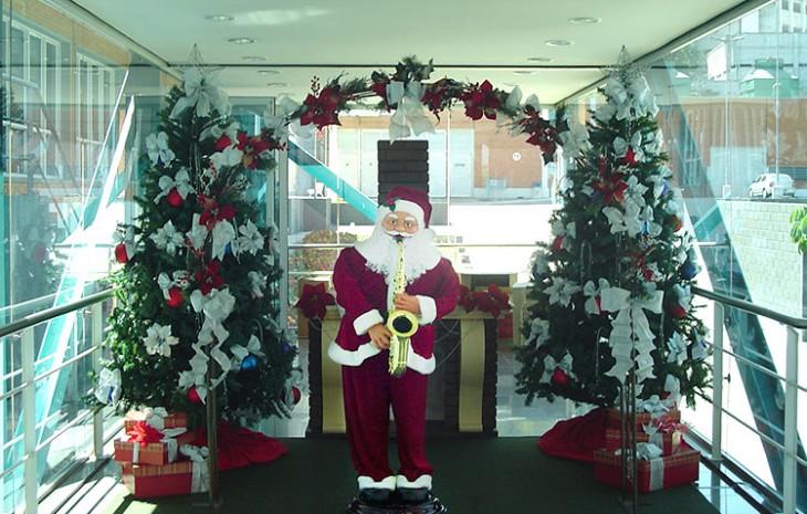 Decoração de Natal Carrefour